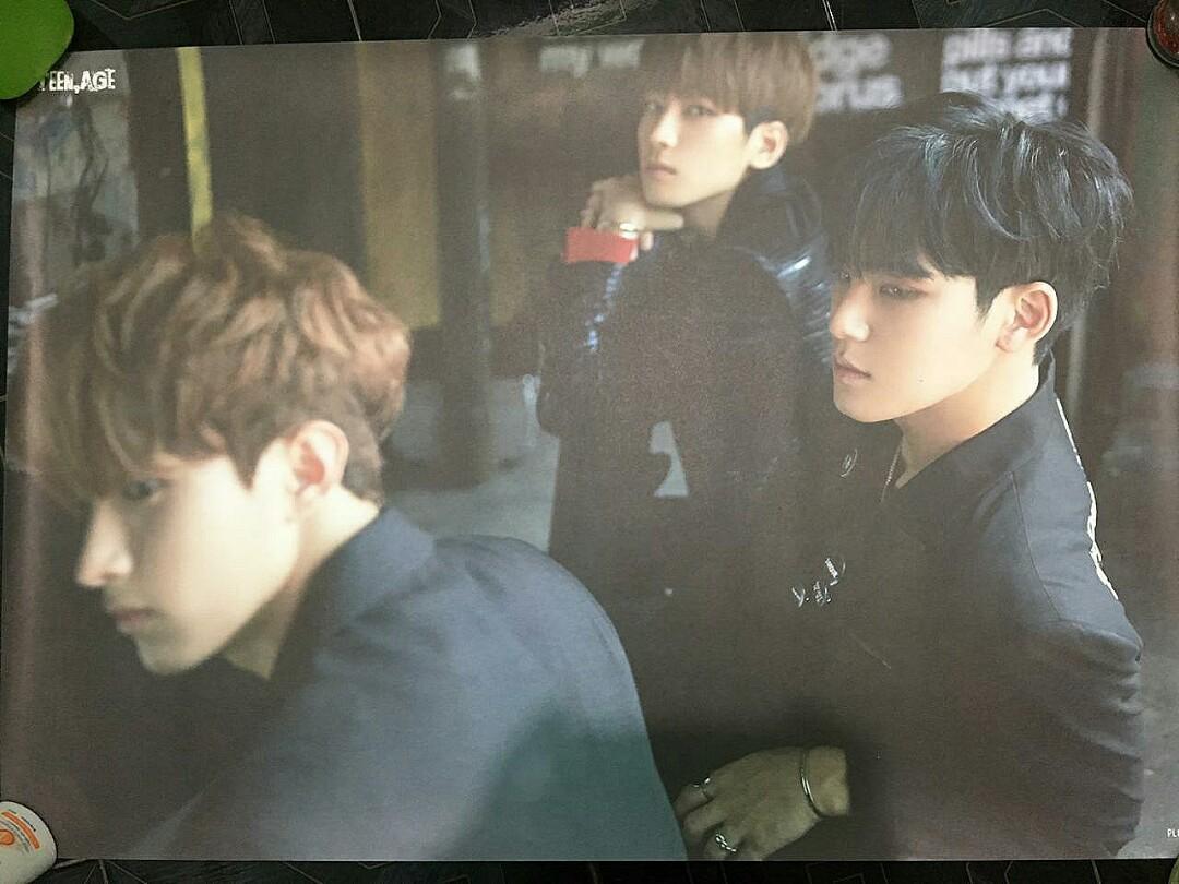 Official Poster Seventeen Teen Age DK Wonwoo Mingyu