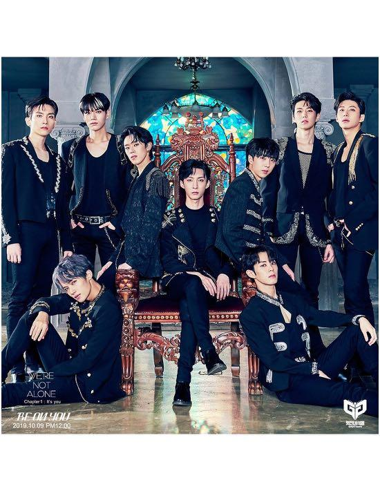 [PREORDER] GREAT GUYS 2nd Mini Album - WE'RE NOT ALONE_CHAPTER 1 : IT'S YOU