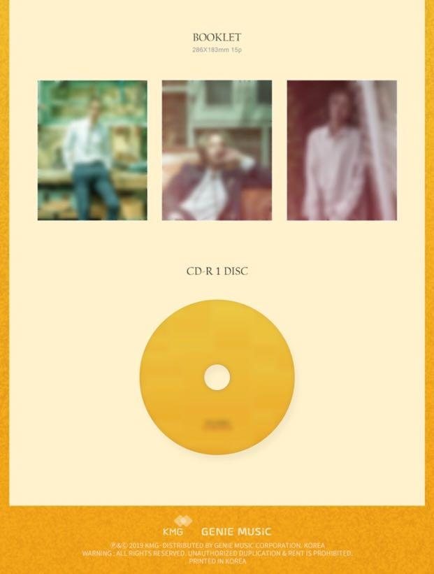 [PREORDER] HA MIN WOO (ZE:A) 2nd Mini Album - THE TEMPO