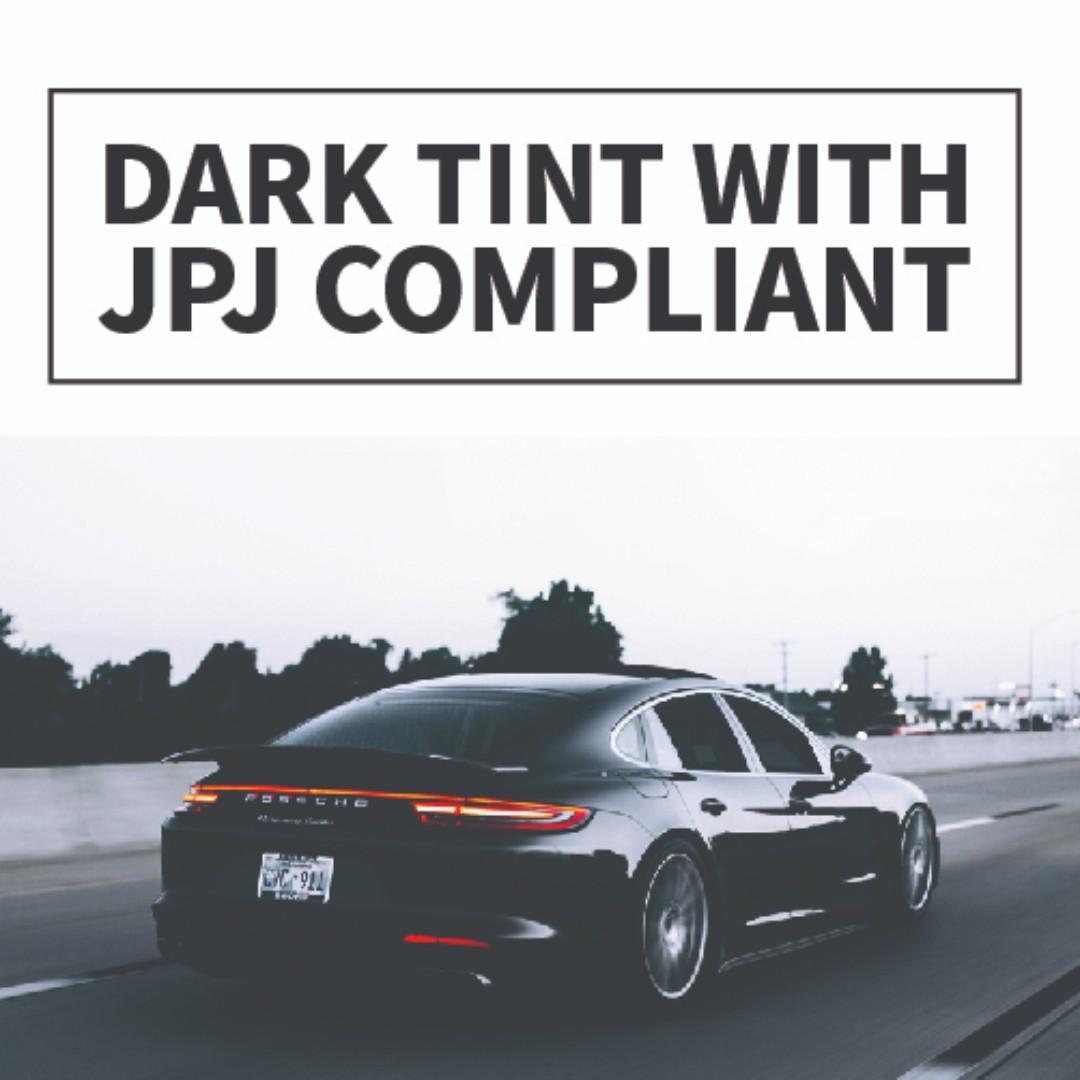 Professional Car Tinted Film