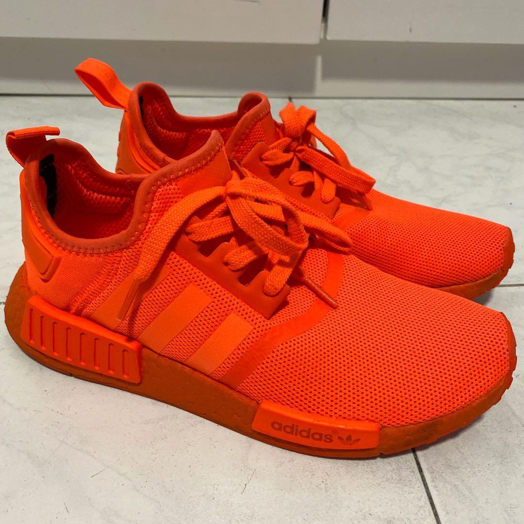 Rare Adidas NMD R1 Triple Red, Men's