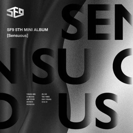 SF9 - SENSUOUS (5TH MINI ALBUM) HIDDEN EMOTION VER.0