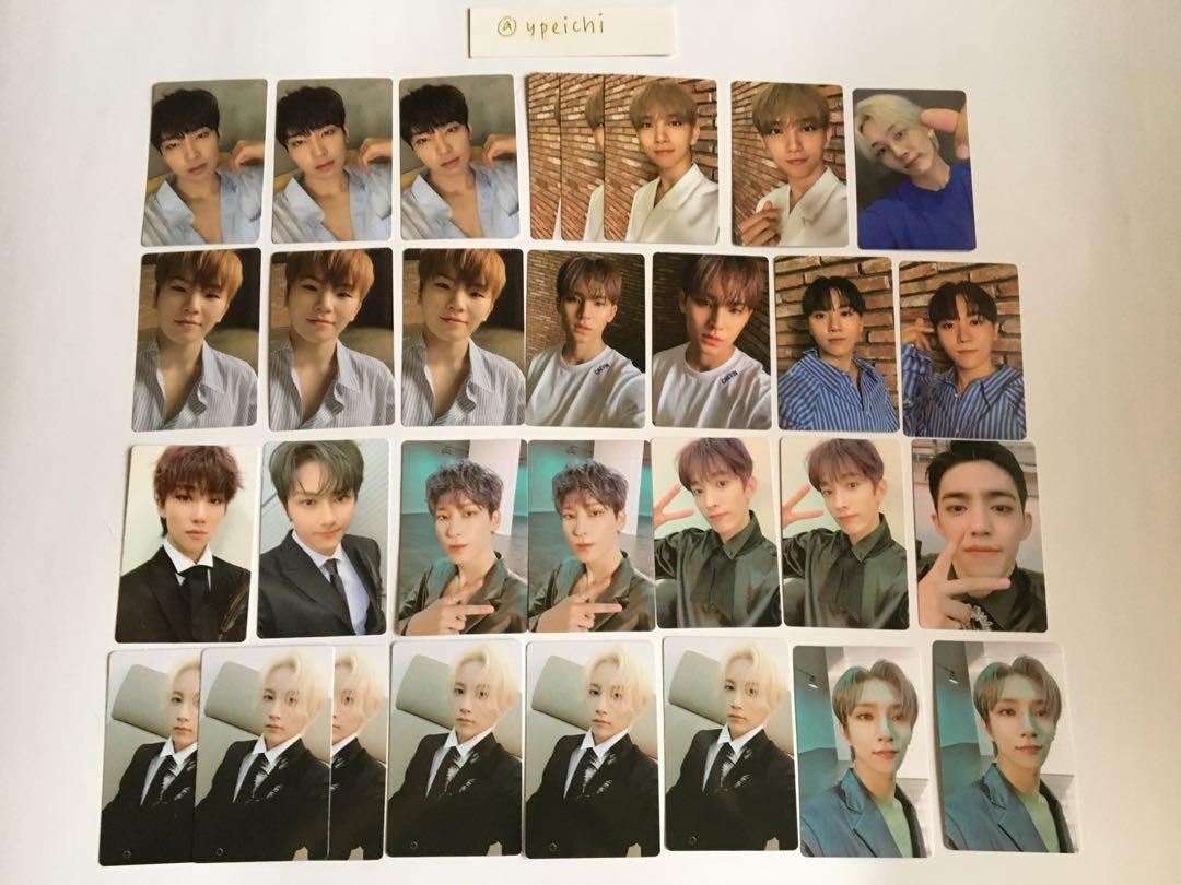 SVT Begin (An Ode) Official Photocards