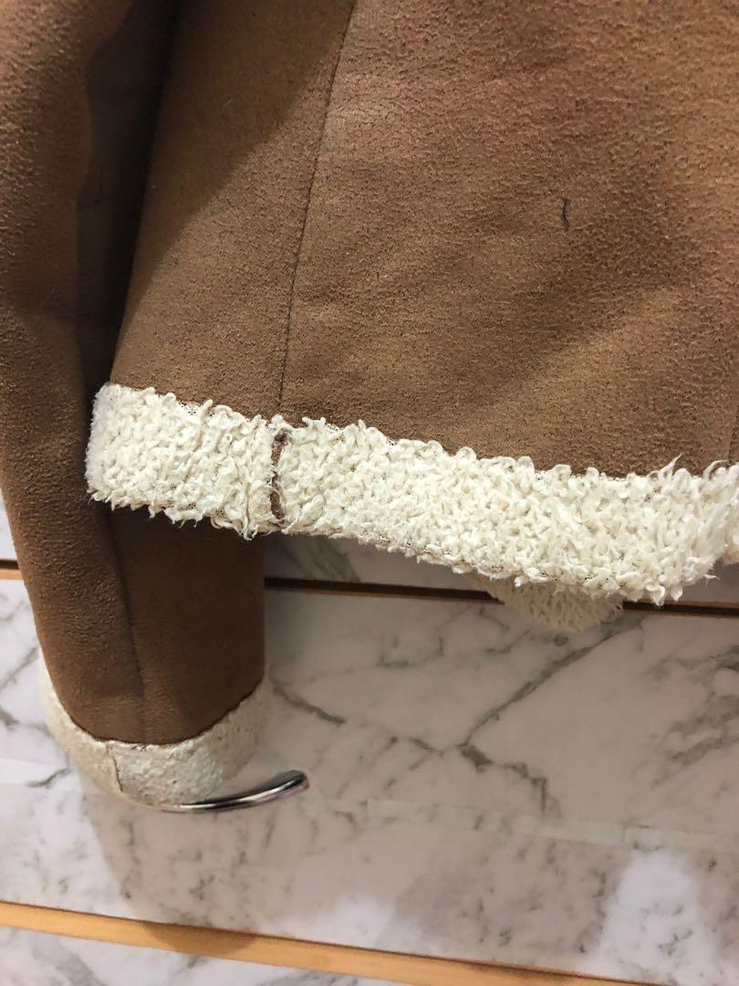 Tan wool jacket