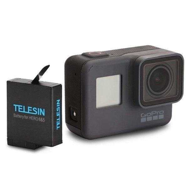 TELESIN Rechargeable 1220mAh Power Battery for GoPro Hero 5, 6,7