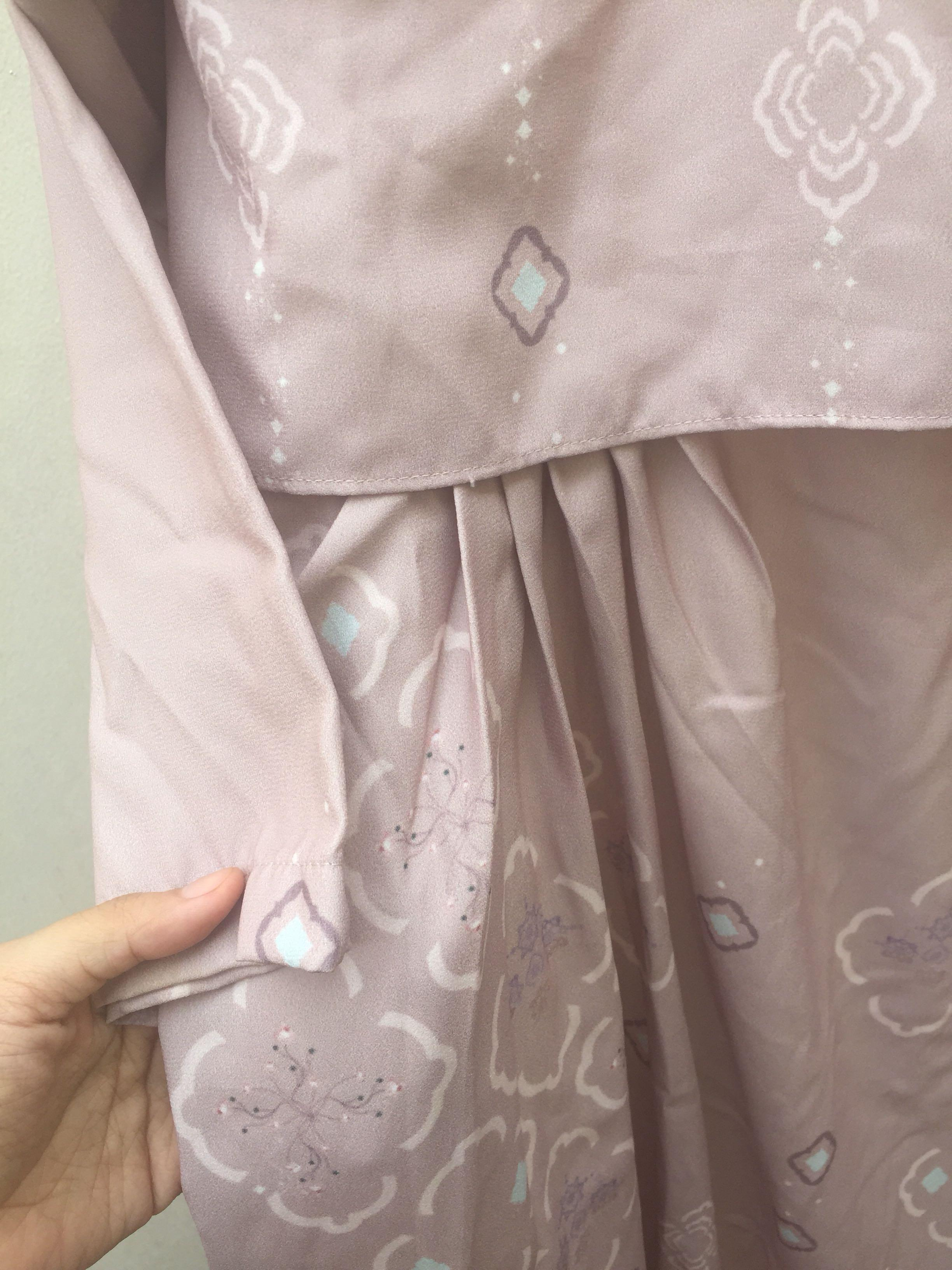 Vanilla hijab rayya dress duha dhuha dress gamis kondangan