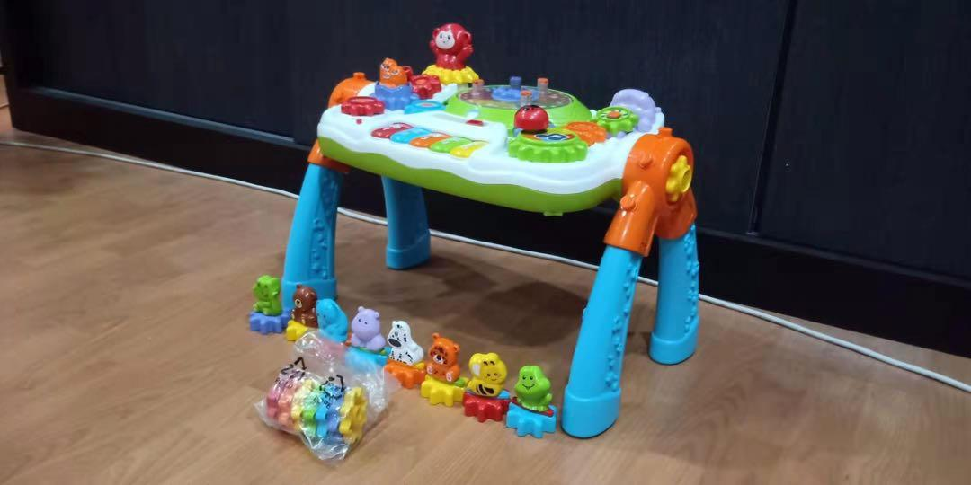 Vtech GearZooz 2-in-1 Jungle Friends Activity Table