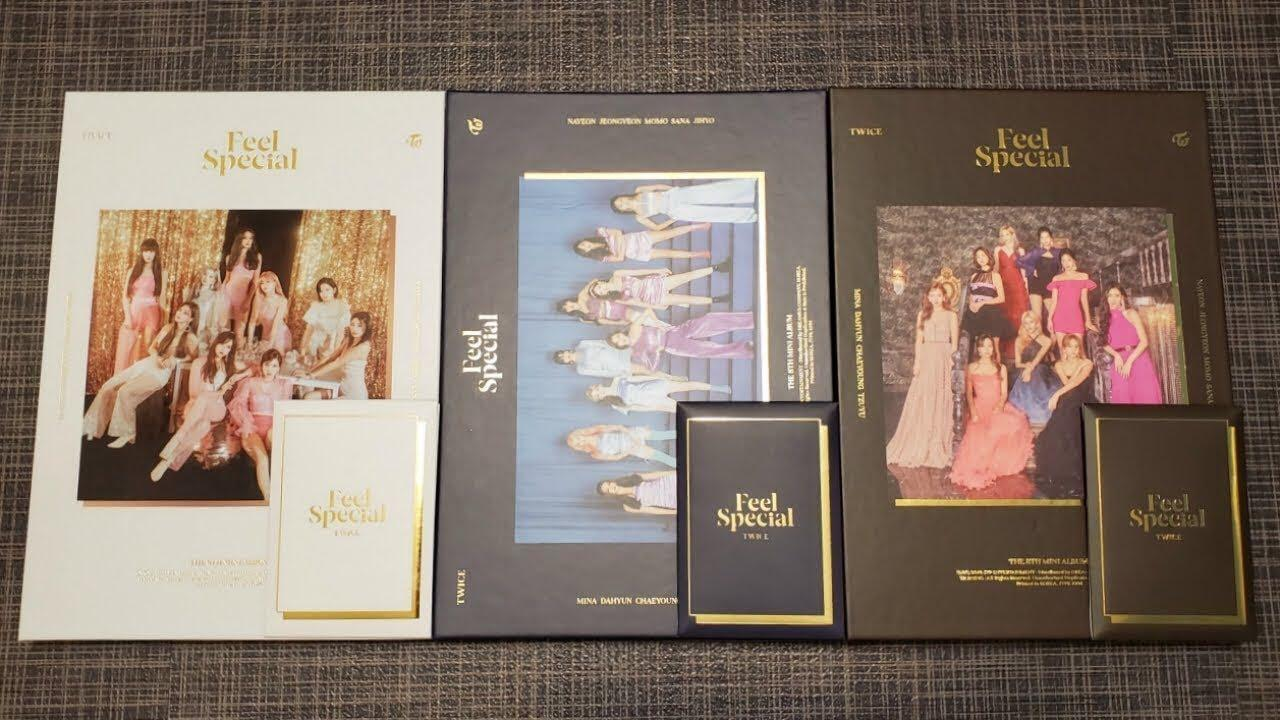 (WTS) Twice Feel Special Unselaed Album