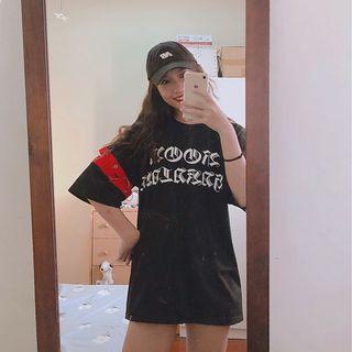 街頭風釦環T恤