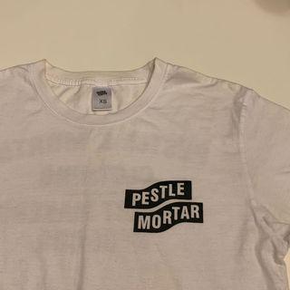 pestle mortar white tee t-shirt