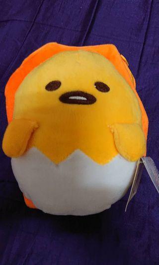 三麗鷗正版授權蛋黃哥後背包旅行包雙肩背包超可愛
