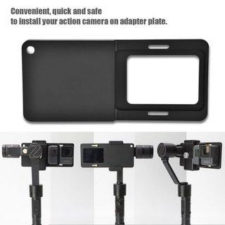 Stabilizer Adapter Mount Plate for GoPro, Xiaoyi Action Camera