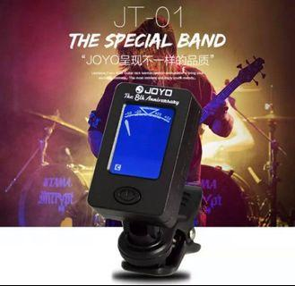 Joyo Guitar Tuner JT-01 Chromatic Clip-On Digital 360 Degree Rotatable for electric bass violin