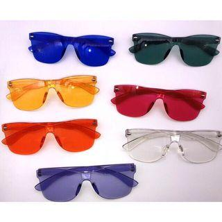 READY STOCK Candy Square Sunglasess