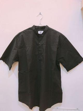 中山領短襯衫