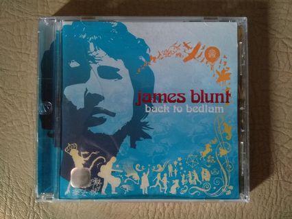 CD James Blunt album Back To Bedlam