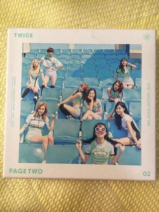 TWICE 專輯 page two