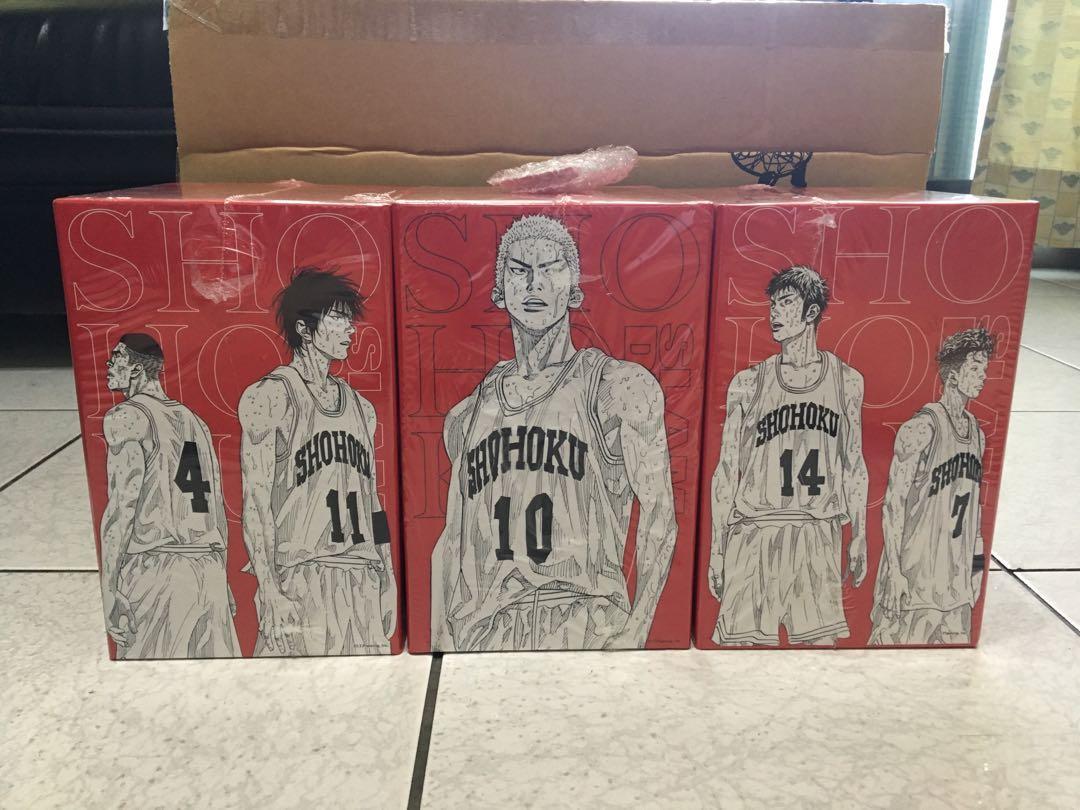 灌籃高手10週年紀念版 書盒完全版