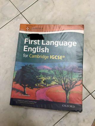 First Language English [IGCSE]