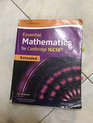 Mathematics for Cambridge IGCSE