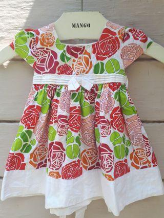 Baby Poney Flowery Dress