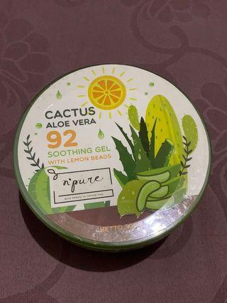 Cactus Aloe Vera Gel N'pure #visitsingapore