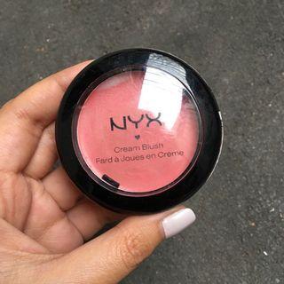 NYX Cream Blush Rose Petal