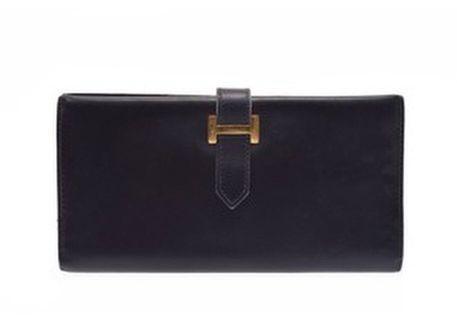 Hermes Bearn box Black