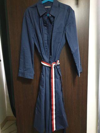 Navy women dress size S - M