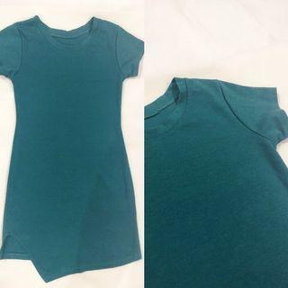 [ALL FOR RM15] Dark Green Midi Bodycon Dress