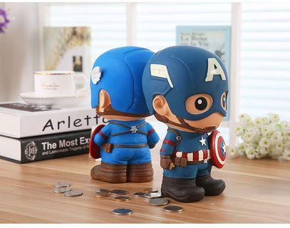 Marvel Coin Box (Captain America, Ironman, Spiderman)