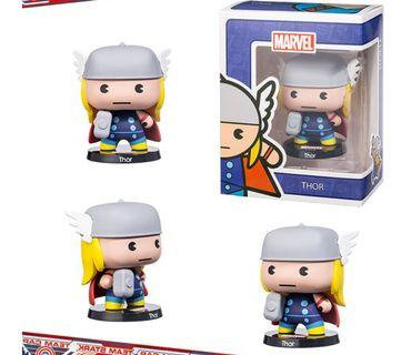 Marvel Cute Collectibles (Thor, Captain America, Hulk, Ironman, Spiderman)