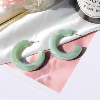 Anting 20K (ready green & pink)