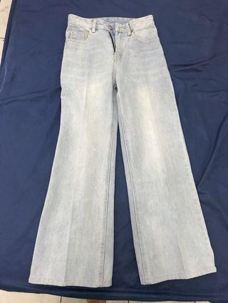 Cullote jeans pomelo
