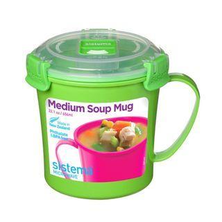 Sistema Soup Mug To Go, Green #18sale