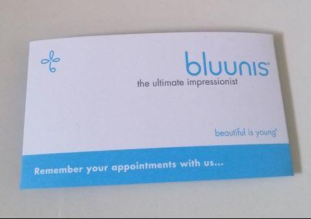 Bluunis eyebrow shaping package