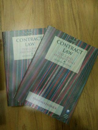 Contract law : text, cases and materials- Ewan Mckendrick (7th edition)