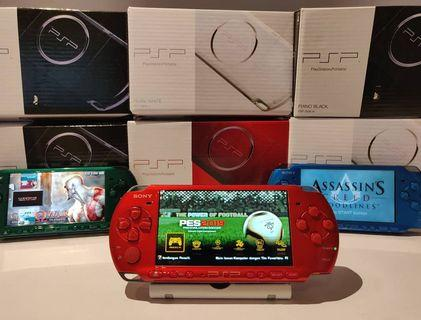 Sony Psp 3000 / 2000/ 1000 + 800 Games + Psp Original Packaging+Screen Protector