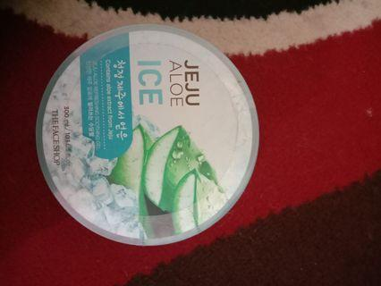 Aloe Vera Soothing Gel the face shop jeju ice