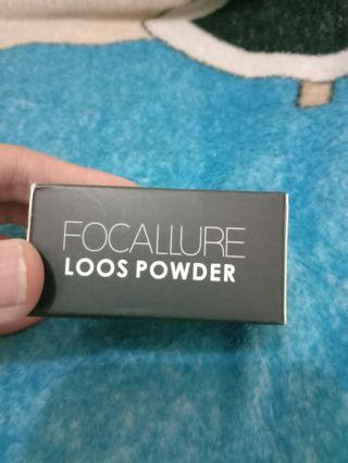 Focallure loose powder bedak tabur shade 01