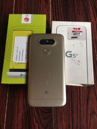 LG G5 SE Gold 3/32gb Fullset normal