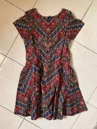 Batik dress - jahit di tailor