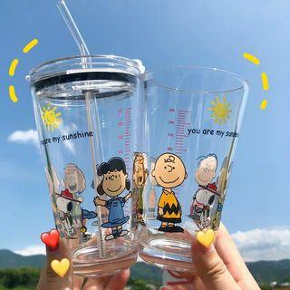 Snoppy Glass Cup