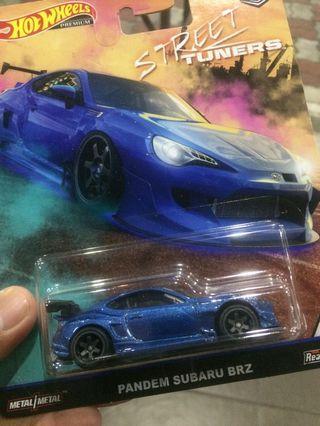 Hot Wheels Street Tuners Subaru Brz