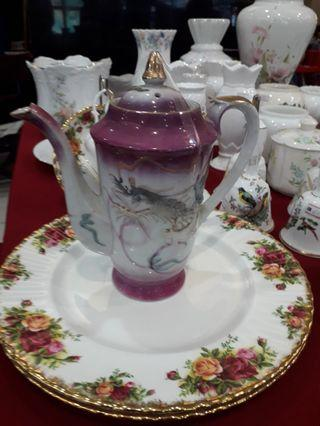 Dragon tea pot