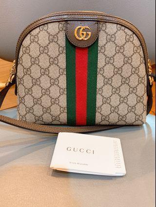 Gucci 雙G Logo 背殼包 (肩揹/斜背包)