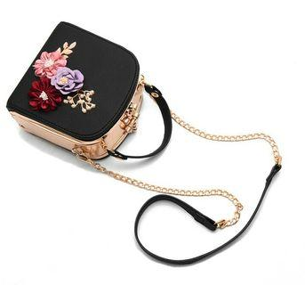 Jessica Minkoff Floral Handbag