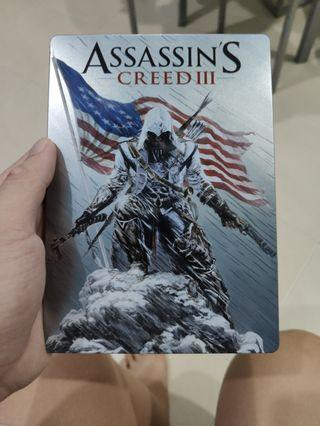 Assassin creed 3 steelbook steelcase