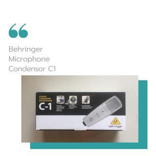 Mic Condensor Behringer C1
