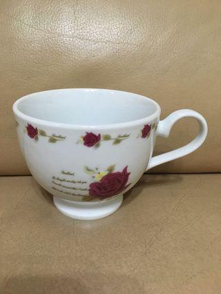 玫瑰下午茶杯(3入)